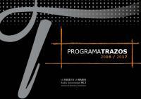 Cubierta para Programa Trazos: 2016-2017