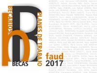 Cubierta para Becas, becarios y planes de trabajo: Faud 2017